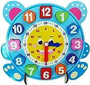 Brite Toys Handmade wooden digital clock baby toys early education teaching aids math toys digital clock Clock