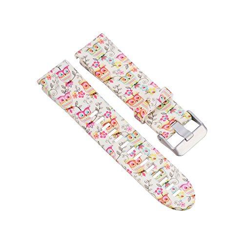 Preisvergleich Produktbild Garmin Fenix 5S GPS Armband, iHee Ersatz-Silicagel Schnellmontage Uhrenarmband für Garmin Fenix 5S GPS (I)