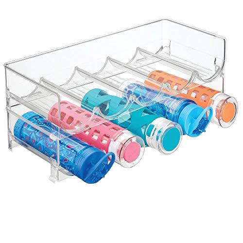 MDesign Juego 2 botelleros apilables diseño - Práctico