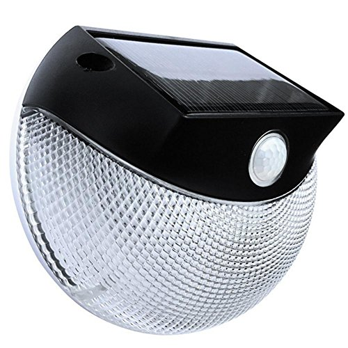 KKVV Luce Wireless Solar LED di sicurezza, impermeabile, sensore di movimento, tutto Usare scoperta, giardino, Staccionata, patio, ponte, Cortile, casa, Passo carraio, Scale - Sensore Di Livello Laser