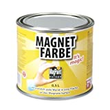 MagnetFarbe Magpaint - magnetische Wandfarbe - 500 ml Dose