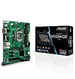 ASUS H110M-C2/CSM Mainboard Sockel 1151 (µATX, Intel H110, 2X DDR4 Speicher, 4X SATA 6Gb/s, 2X USB 3.0, 4X USB 3.0, PCIe 3.0)