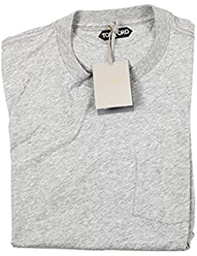 CL - TOM FORD Crew Neck Gray Tee Shirt Size 52 / 42R U.S.