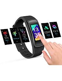 icefox Fitness Pulsera, Smart Fitness Trackers Reloj, Resistente al Agua IP67 Bluetooth Actividad con