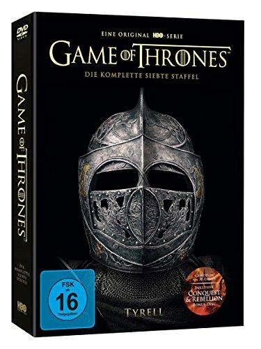 Game of Thrones: Die komplette 7. Staffel Digipack + Bonus Disc (exklusiv bei Amazon.de) [Limited Edition] [39 DVDs]
