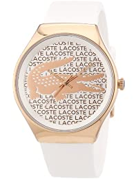 Lacoste Damen-Armbanduhr Analog Quarz Silikon 2000809