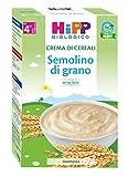 Hipp Crema di Cereali Semolino di Grano - 200 g