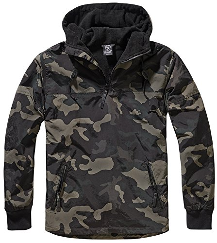 Brandit Herren Jacke Luke Windbreaker darkcamo L Windbreaker