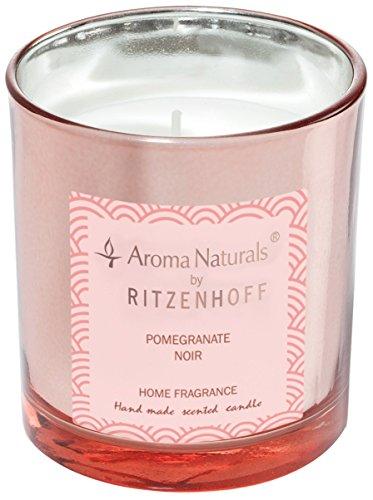 Scheda dettagliata RITZENHOFF 5070003 Aroma Naturals Luxury Candela profumata, Nero/Rosa, 7 x 7 x 8 cm