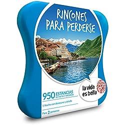 LA VIDA ES BELLA - Caja Regalo - RINCONES PARA PERDERSE - 950 hoteles 4*, haciendas y muchos más en España, Portugal, Francia, Bélgica e Italia