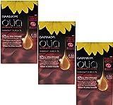 3x Garnier Olia Haarfarbe Granat Rot 6.60 ,enthält 60% Blumen-Öle - Ohne Ammoniak