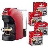 Lavazza a Modo Mio 18000334 Kaffeemaschine, 1450 W, 0.75 Liter, Acrylonitrile Butadiene styrene (ABS), rot