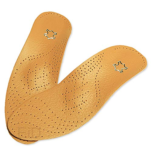 ZUEN Unisex Plantari Scarpe Solette Piede Piatto Alto Supporto Arco 2.8-3 cm Ortopedico Cuscino Pad per la correzione Ox Gamba Assistenza Sanitaria,XS