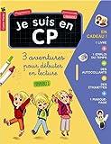 Image of Je suis en CP : 3 aventures pour débuter en lecture (niveau 1) : Réunit C'est la rentrée ! ; Dispute à la récré ; Le nouveau