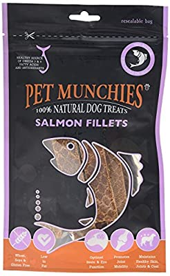 Salmon Fillets, 90 g by Pet Munchies
