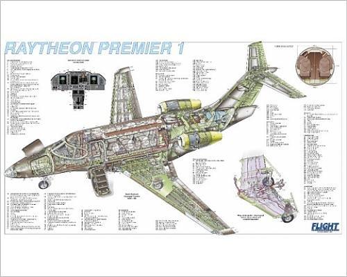 photographic-print-of-raytheon-premier-1-cutaway-poster