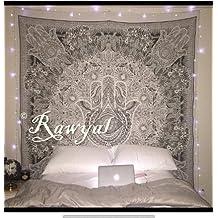 """Exclusivo Tapiz de Fátima de la marca """"Rawyal,"""" hindú arte de pared Tapiz, colgar en la pared, Hippie bohemio colcha"""