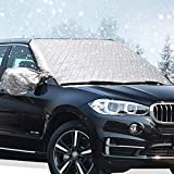 Windscreen Cover,Windshield Cover Car Snow Cover, Big Ant Snow Cover with Mirror, Protect
