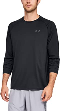 Under Armour Men's Tech 2.0 Long-Sleeve Sporty and Breathable Warm Up Top with Anti-Odour Technology, Quick-Drying Zip Up Top for Men