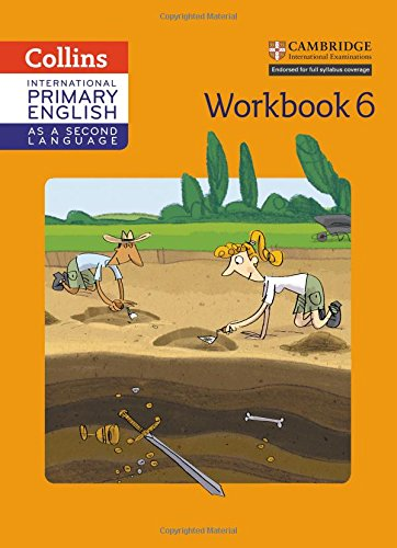 International Primary English as a Second Language Workbook Stage 6 (Collins Cambridge International Primary English as a Second Language) por Kathryn Gibbs