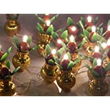 Go Hooked Golden Kalash String Light For Diwali