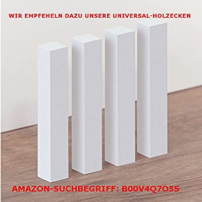 "Südbrock Fußleisten / Sockelleisten ""München"" (MDF foliert)"