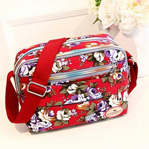 Crossbody  Tasche, Huihong MäDchenmode Schulter  Tasche Messenger Kosmetische Tasche  Tasche Beste Geschenk FüR Freundin Rot