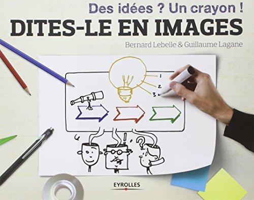 Dites-le en images: Des idées ? Un crayon ! par Bernard Lebelle