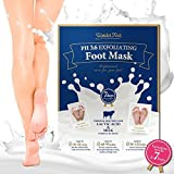 Wonder Foot Exfoliating Mask – con acido lattico e latte (ph3.6) – garantita a rinnova il piede in 7 giorni – venduto solo su Amazon immagine