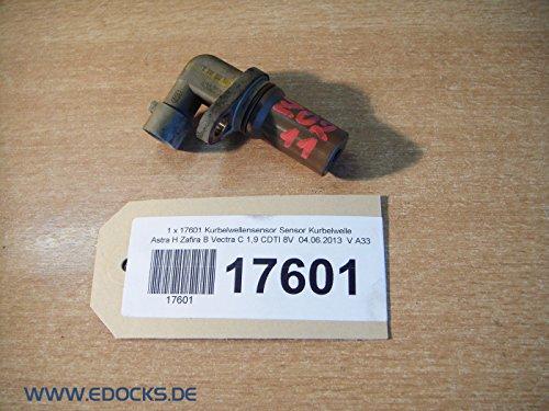 Kurbelwellensensor Sensor Kurbelwelle Astra H Zafira B Vectra C 1,9 CDTI 8V Opel