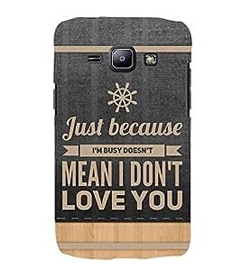 PrintVisa Designer Back Case Cover for Samsung Galaxy J1 (2015) :: Samsung Galaxy J1 4G (2015) :: Samsung Galaxy J1 4G Duos :: Samsung Galaxy J1 J100F J100Fn J100H J100H/Dd J100H/Ds J100M J100Mu (Linear Relation Between Love Hope And Faith)