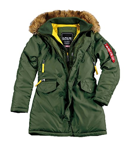 Alpha Industries Damen Jacken / Winterjacke PPS N3B Dark Green