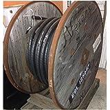 Câble d'alimentation aluminium 3X95 + 50mm² armé 1.2KV (Touret grande taille de 40m) U-1000 ARVFV NEXANS 01306490