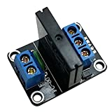 TOOGOO(R) 5v 1 Channel SSR Solid-state Relay High Level Trigger 2a 250v Precise for Arduino Solid State Relay Module