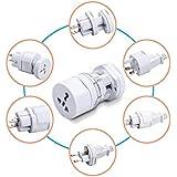 Ganix International Universal World Travel Adapter Plug All In One Universal Power Adapter (US,AUS,NZ,Europe,UK) (SP)