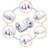 #9: Sharp Plus International Travel Adapter All In One (US,AUS,NZ,Europe,UK) (SP)