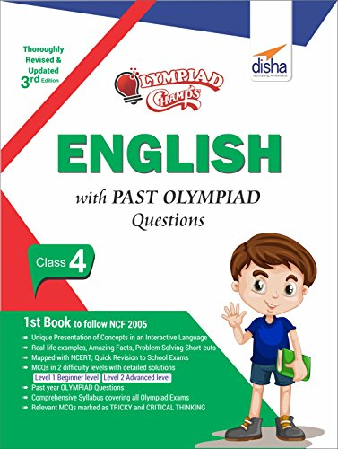 Olympiad Champs English Class 4 with Past Olympiad Questions