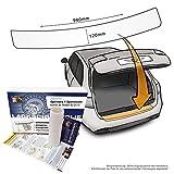 Passend für Opel Astra K Sportstourer/Kombi (ab 2015) - Passform Lackschutzfolie als Selbstklebender Ladekantenschutz (Autofolie und Schutzfolie) transparent 150µm