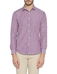 Richard Parker by Pantaloons Men's Cotton Blend Shirt