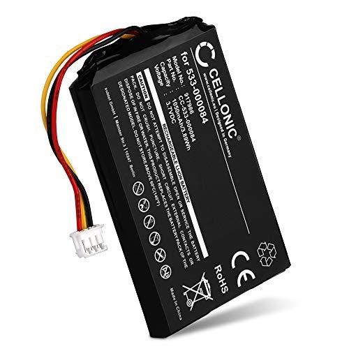 CELLONIC® Batterie premium compatible avec Logitech Harmony Touch, Logitech Harmony Ultimate, Logitech 915-000198, Logitech Harmony Touch 915-000200 - 533-000084 1209 533-000083 (1050mAh) Accu de rechange remplacement