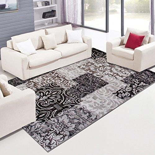 Lewie-Carpet Moderne minimalistische Wohnzimmer Couchtisch Matten Schlafzimmer Sofa Bedside Thick Matten Mites Umwelt gewaschen Werden, um Hemmen Antibakteriell - Amber Antibakteriell