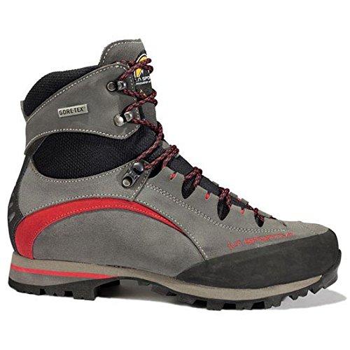 La Sportiva Trango Trek Micro Evo GTX Anthracite/Red, Stivali da Escursionismo Alti Unisex-Adulto, Multicolore 000, 43 EU