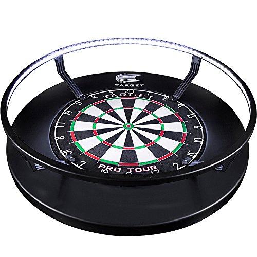 *Target Corona – Dartscheiben-Beleuchtungssystem – 360 Grad LED – kein Schatten – schwarz*
