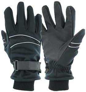 Highlander Carson Softshell Gloves - Black, Small