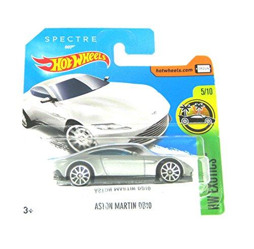 HOT WHEELS® Aston Martin DB10 - 1:64 - silber/metallic (Edition Spectre 007)