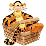 Children's Tigger Rug, Shaped Cut, 50x 80cm by Bavaria Home Style Collection