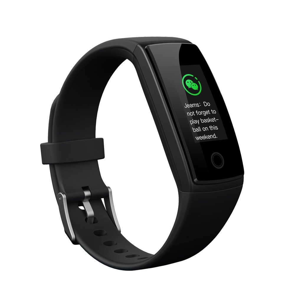 Fitness Tracker, Fitsport V10 New Updated Version Colorful Screen Smart Watch with Heart Rate Blood Pressure Monitor,Smart Bracelet Pedometer Activity Tracker Bluetooth for Android & IOS