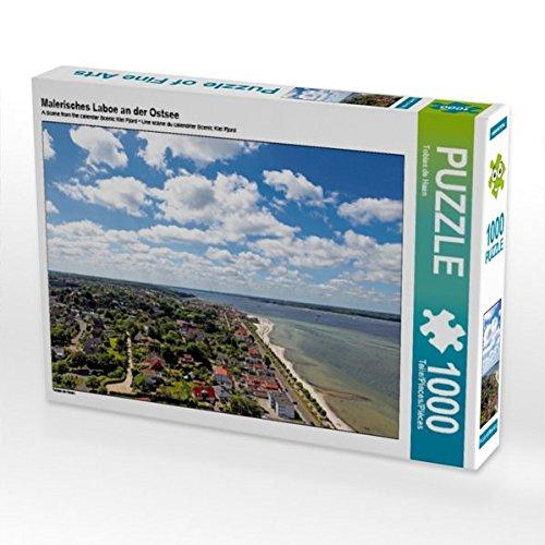 Malerisches Laboe an der Ostsee 1000 Teile Puzzle quer (CALVENDO Orte)