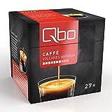 Qbo Kapseln - Caffè Volcanes Antigua (Kaffee, sinnlich-bittersüße Schokoladenaromen, 100% Arabica) (8x27 Kapseln)