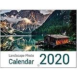 Calendrier mural mensuel Thème paysages 2020 grand format A3...